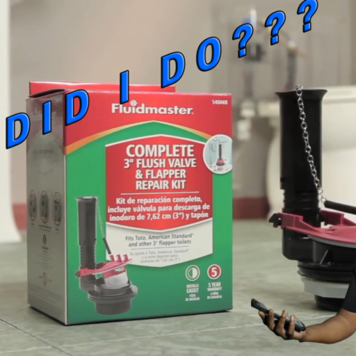How Did I Do? - Fluidmaster Toilet Valve Replacement